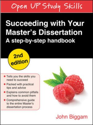 Your masters dissertation