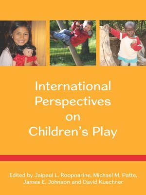 cover image of International Perspectives on Children's Play