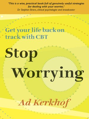 cover image of Stop Worrying