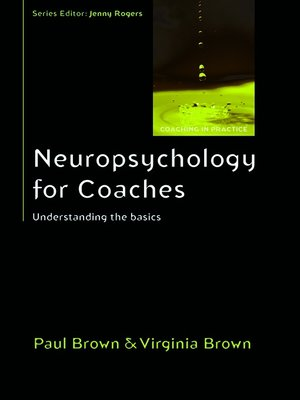 cover image of Neuropsychology for Coaches