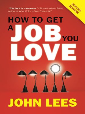 cover image of How to Get a Job You Love