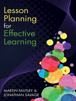 cover image of Lesson Planning for Effective Learning