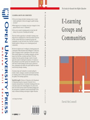 cover image of E-Learning Groups and Communities