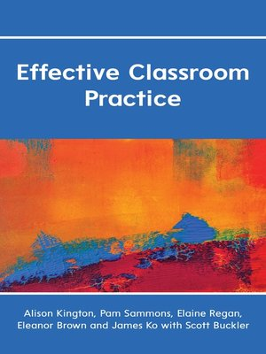 cover image of Effective Classroom Practice