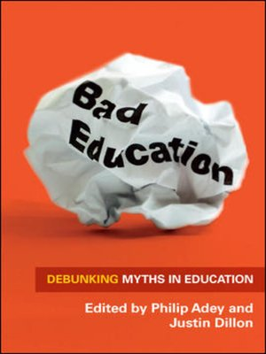 cover image of Bad Education