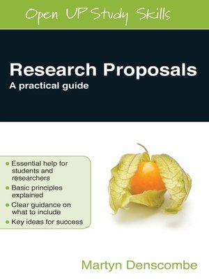 cover image of Research Proposals