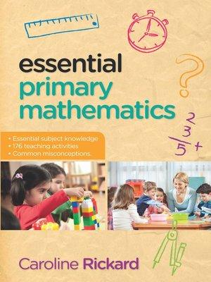 cover image of Essential Primary Mathematics
