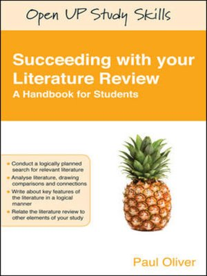 cover image of Succeeding with Your Literature Review
