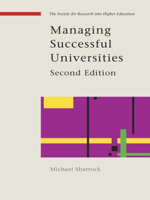 cover image of Managing Successful Universities