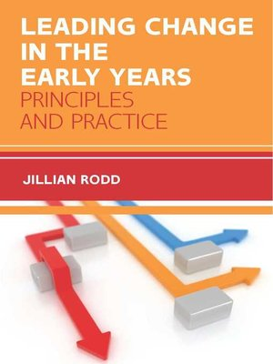 cover image of Leading Change in Early Years