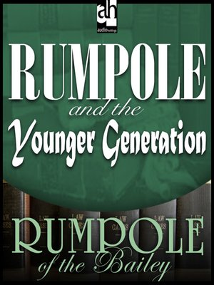 cover image of Rumpole and the Younger Generation