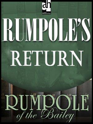 cover image of Rumpole's Return
