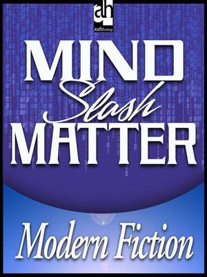 cover image of Mind Slash Matter