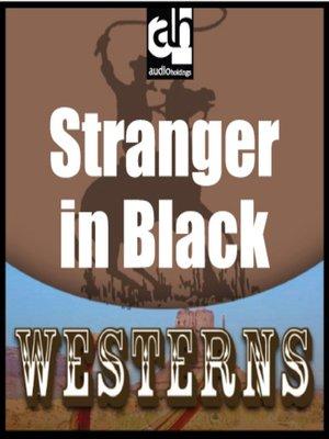 cover image of Stranger in Black