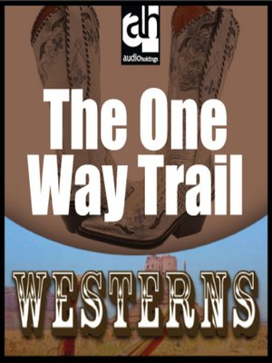 cover image of The One-Way Trail