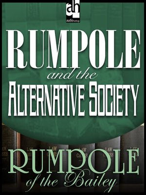 cover image of Rumpole and the Alternative Society