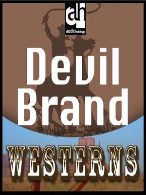 cover image of Devil Brand