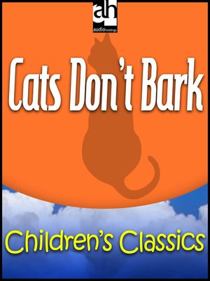 cover image of Cats Don't Bark
