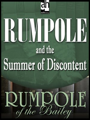 cover image of Rumpole and the Summer of Discontent