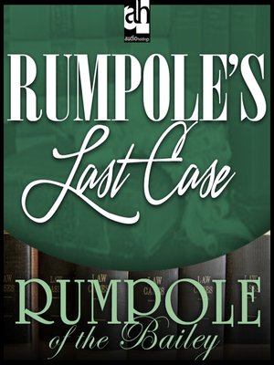 cover image of Rumpole's Last Case