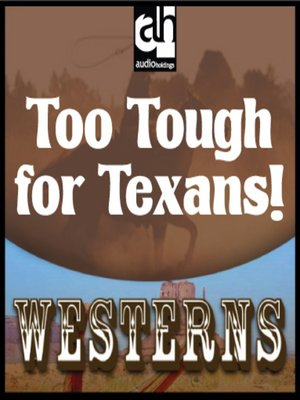 cover image of Too Tough for Texans!