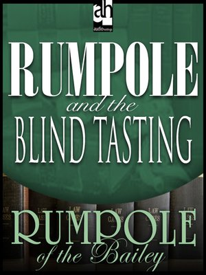 cover image of Rumpole and the Blind Tasting