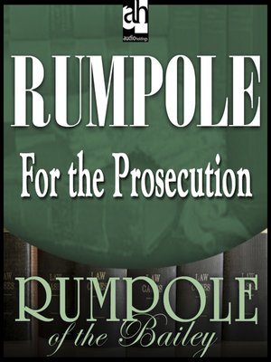 cover image of Rumpole for the Prosecution