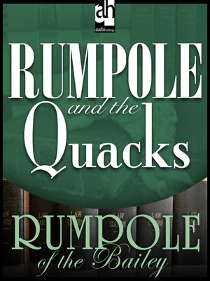 cover image of Rumpole and the Quacks