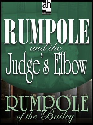 cover image of Rumpole and the Judge's Elbow