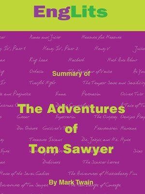 cover image of EngLits: The Adventures of Tom Sawyer