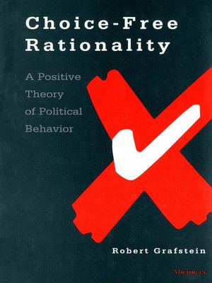 cover image of Choice-Free Rationality