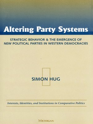 cover image of Altering Party Systems