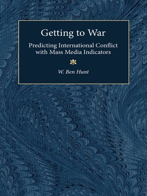 cover image of Getting to War
