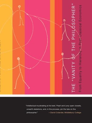 "cover image of ""Vanity of the Philosopher"""