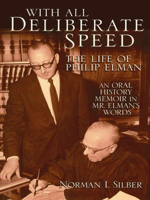 cover image of With All Deliberate Speed