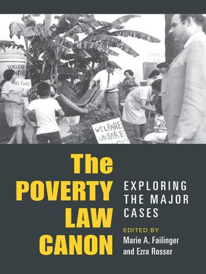 cover image of Poverty Law Canon