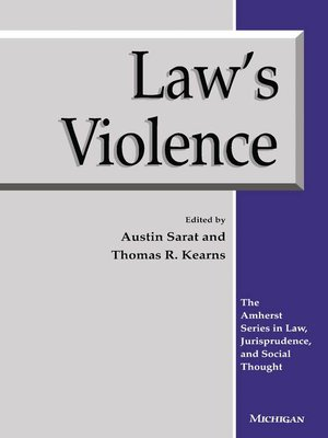 cover image of Law's Violence