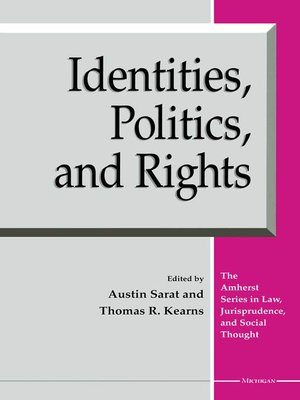cover image of Identities, Politics, and Rights