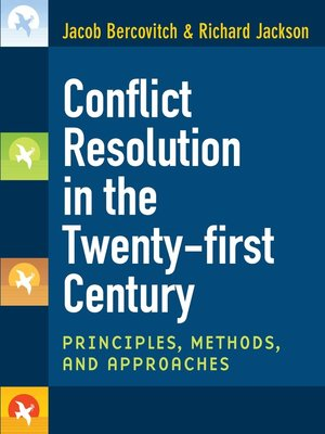 cover image of Conflict Resolution in the Twenty-first Century