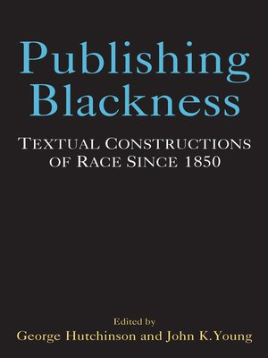 cover image of Publishing Blackness