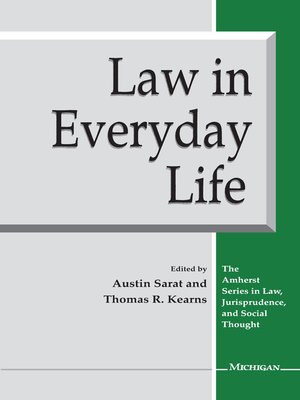 cover image of Law in Everyday Life