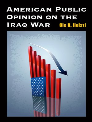 cover image of American Public Opinion on the Iraq War