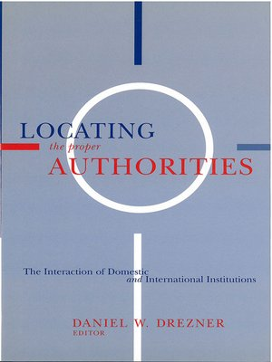 cover image of Locating the Proper Authorities