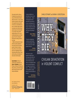 cover image of Why They Die