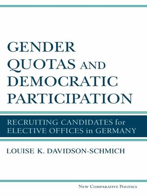 cover image of Gender Quotas and Democratic Participation