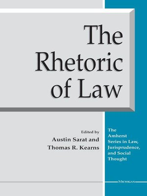 cover image of Rhetoric of Law