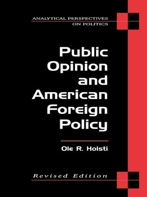 cover image of Public Opinion and American Foreign Policy, Revised Edition