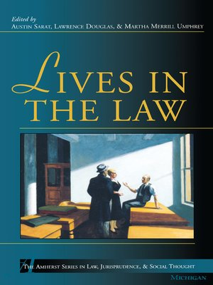 cover image of Lives in the Law