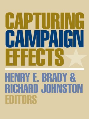 cover image of Capturing Campaign Effects