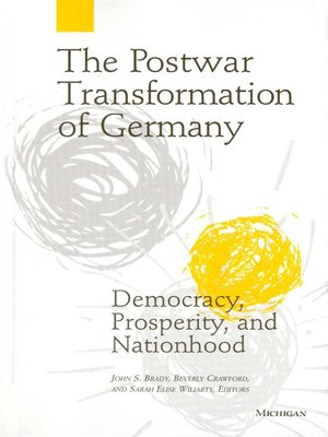 cover image of Postwar Transformation of Germany